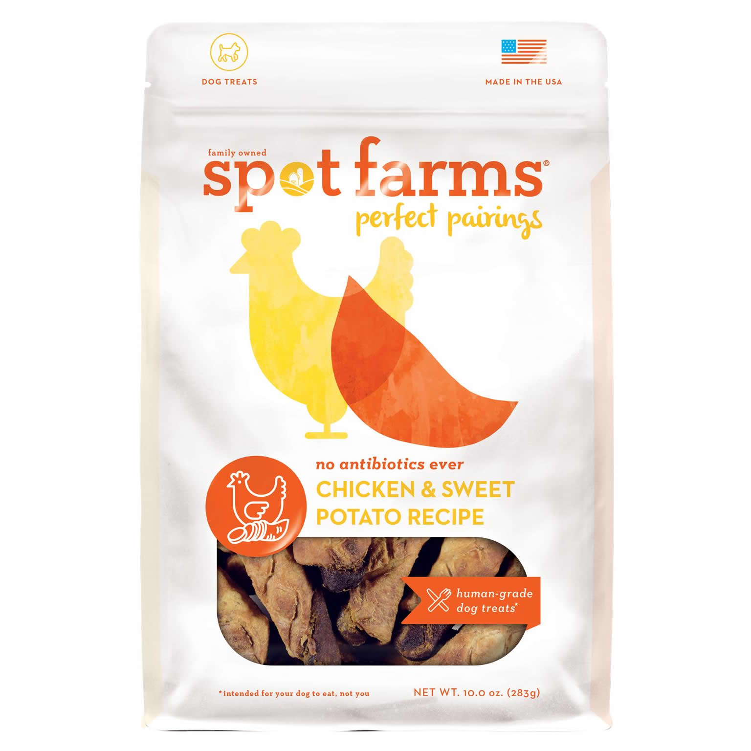 Chicken & Sweet Potato - Family Owned Spot Farms